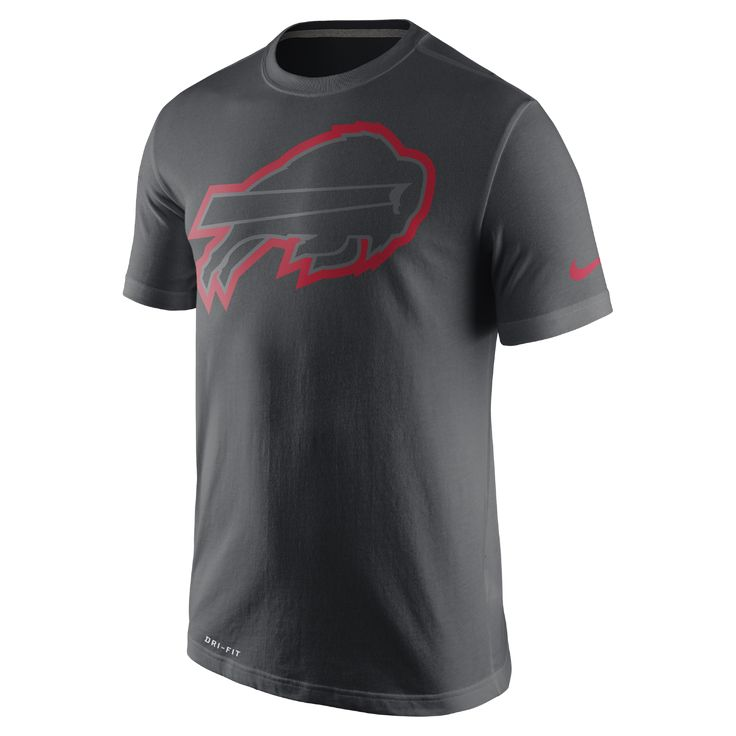 Nike 2016 Travel (NFL Bills) Men's T-Shirt Size Medium (Black) - Clearance Sale