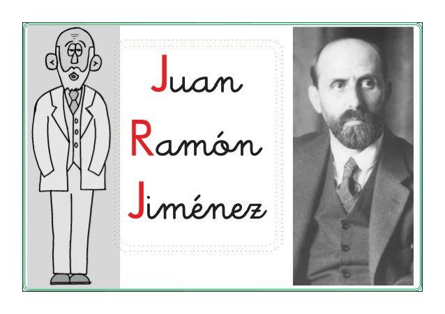 Biografía Juan Ramón Jiménez by Bruja Malvada via slideshare