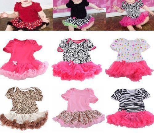 0 - 12 м прекрасный малыш девушки оборками платье ползунки цельный наряд платья одежда + повязка на голову