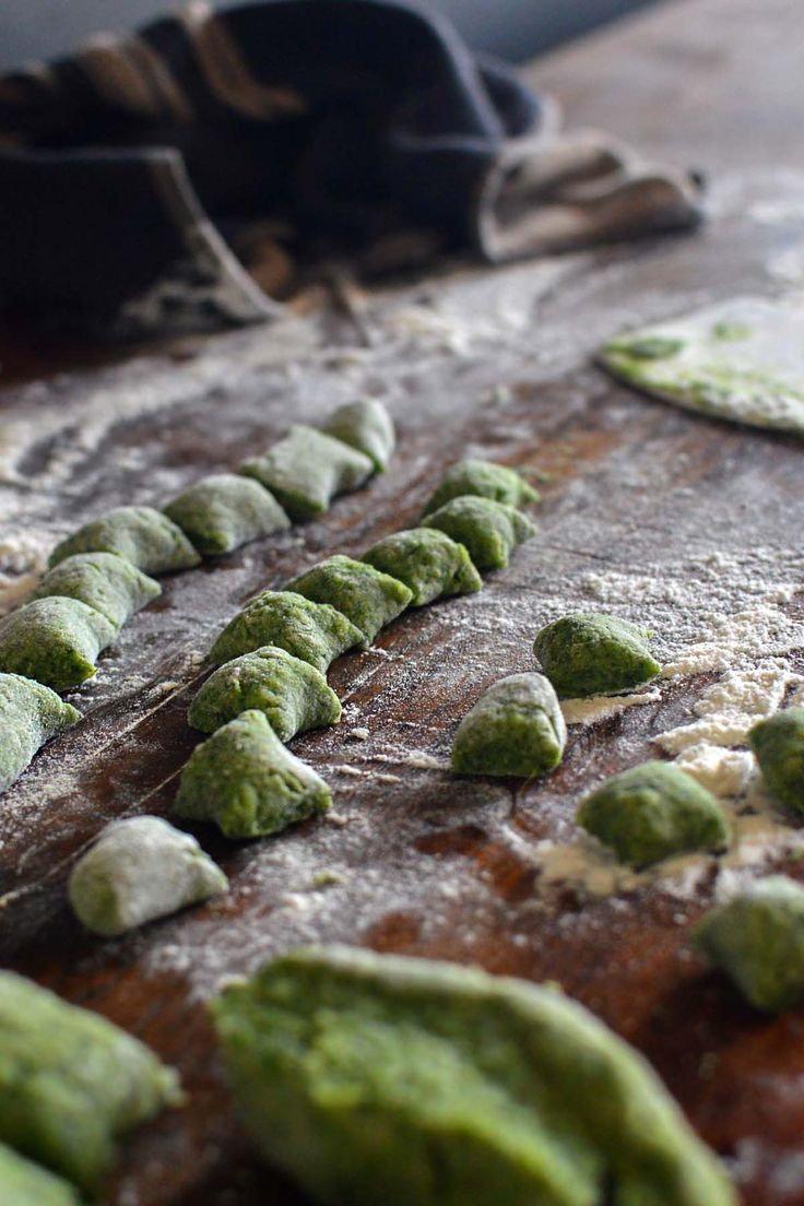 Warrigal greens gnocchi - by heneedsfood