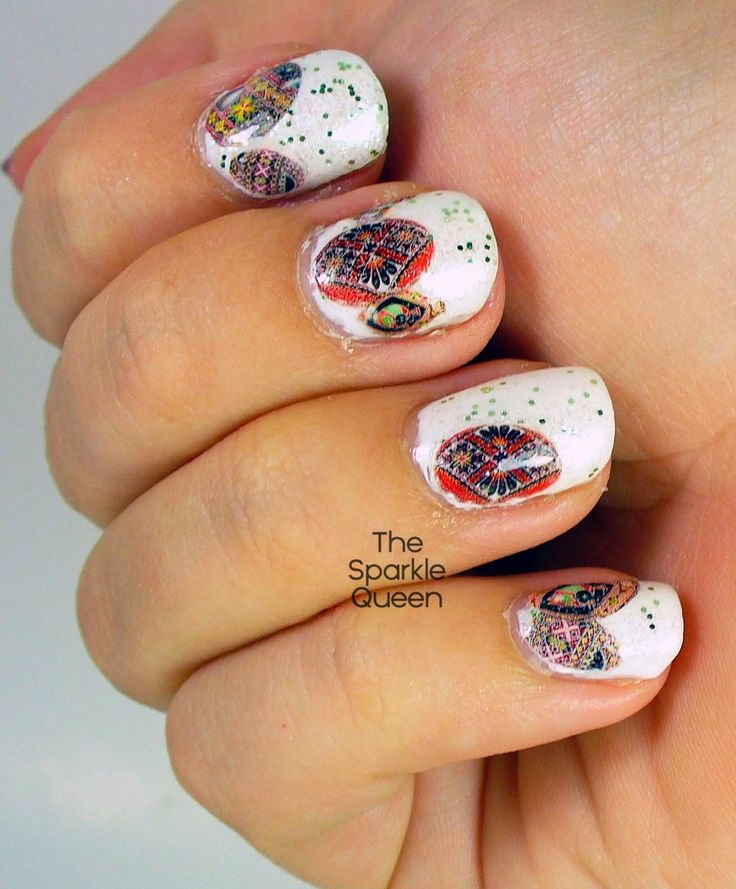 Nail Art History: Easter And Spring Images On Pinterest
