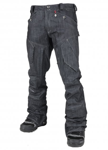 "my boyfriend would love these ""denim"" snowboarding pants haha    Volcom SnowBoard Pants"