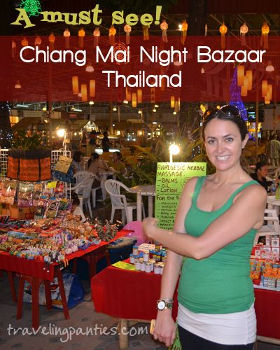 Located in the center of downtown, along the Ping River, this is one of the best night markets!