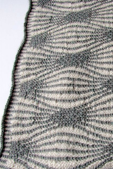 Interesting pattern... Ravelry: Tangent pattern by Julia Barrowcliffe #cowl #hat