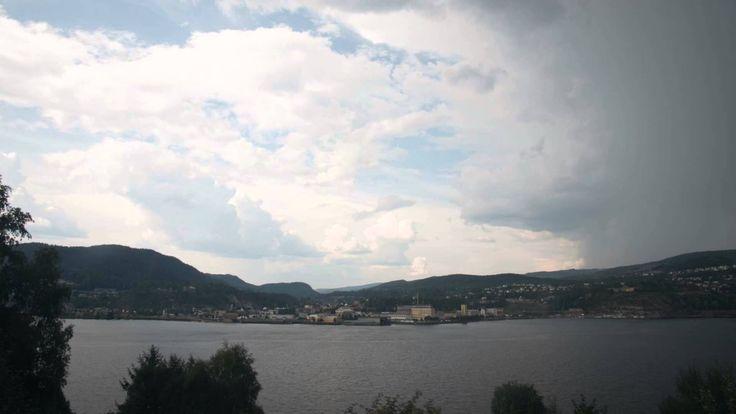 Kraftig tordenvær sommeren 14