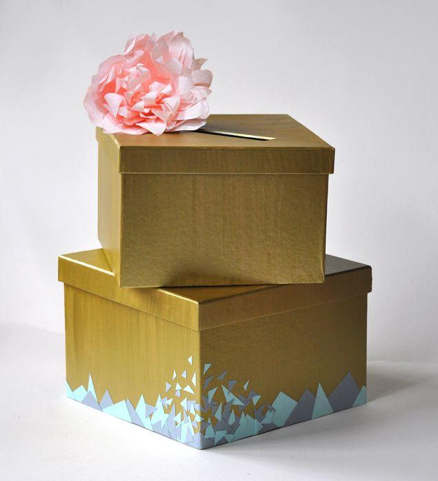 Wedding Gift Card Box Diy: Best 25+ Wedding Boxes Ideas On Pinterest