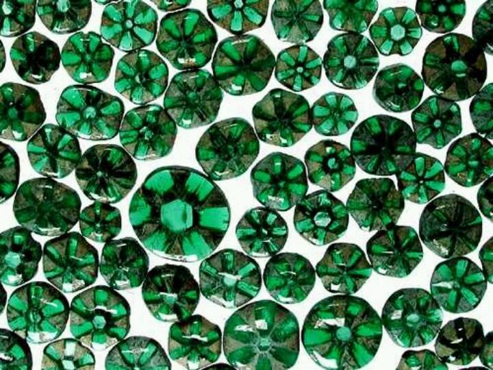 Trapiche Emeralds Pierre Precieuse Bijoux Diy Tissu