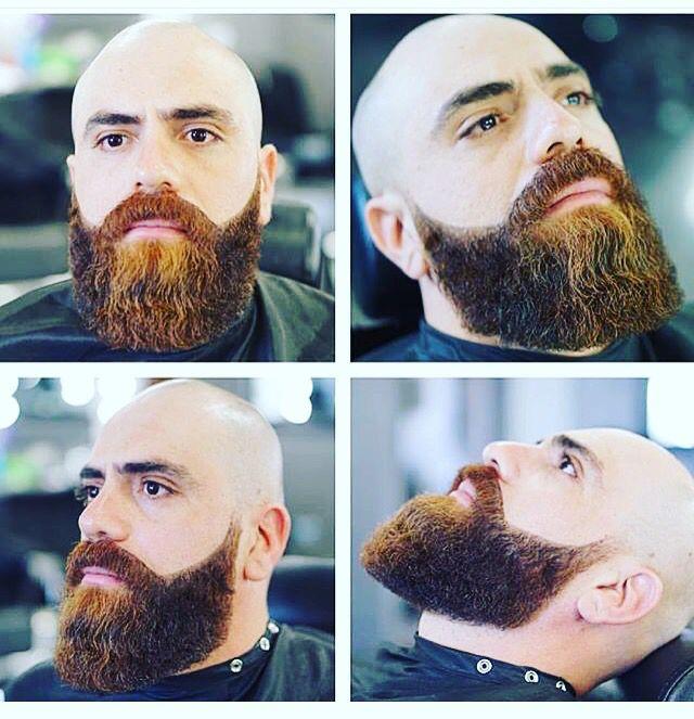 #bald and #bearded and with one of the best groomed #beards I've seen. The #barber deserves a medal  #beardthefuckup #beardedbasturds #pogonophile #beardlove #inspiration #beardgang #beardgoals #beardsofinstagram #beardlife #fashion #hipster