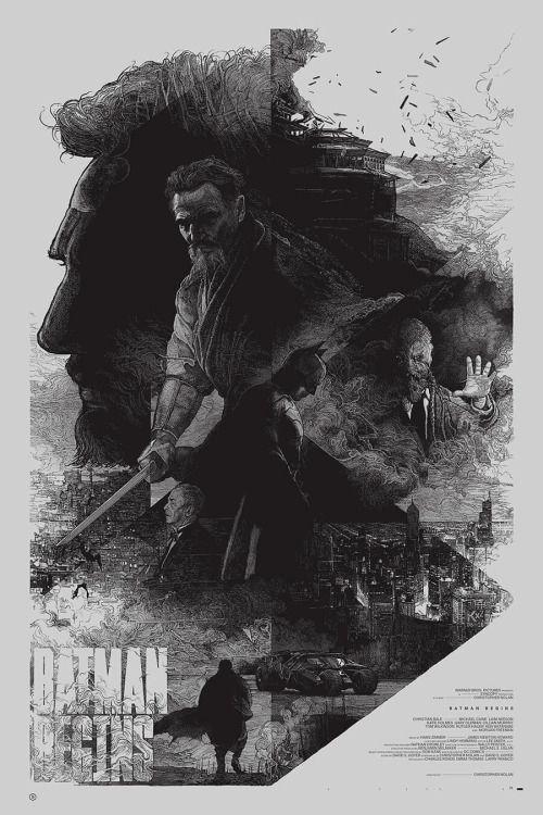 Batman Begins Poster - Krzysztof Domaradzki