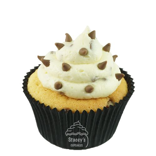 "Classic Chocolate Chip Cupcake ""The Tuxedo""by Stacey's Cupcakes www.staceyscupcakes.com.au"