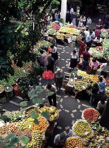 Funchal Municipal Market - Mercado dos Lavradores by Madeira Islands Tourism. #madeira