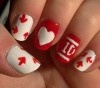 One Direction Logo Nails!