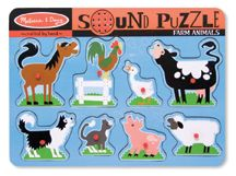 Melissa and Doug Farm Animals Sound Puzzle