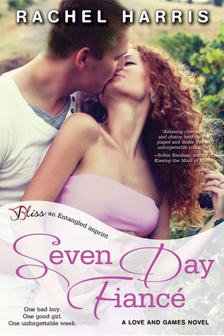 Seven Day Fiancé (Love and Games #2) – Rachel Harris | The Book Hammock