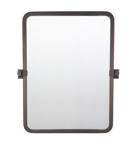 Bixby Rounded Rectangle Pivot Mirror