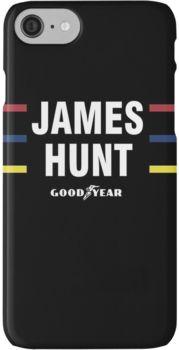 James Hunt Helmet Design iPhone 7 Cases