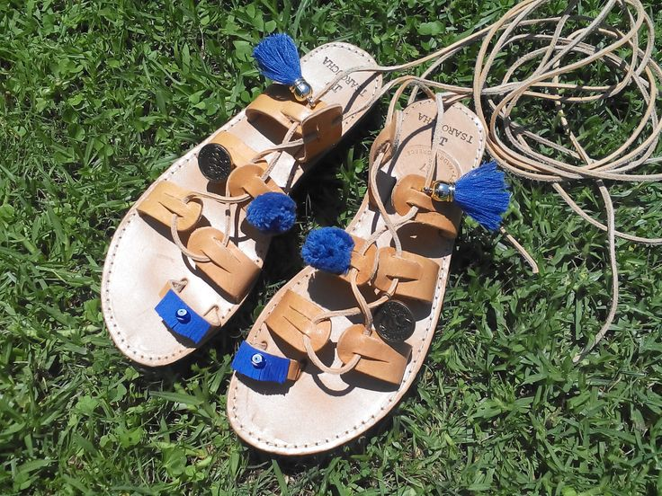 mati -sandal by tsarouchacollection on Etsy