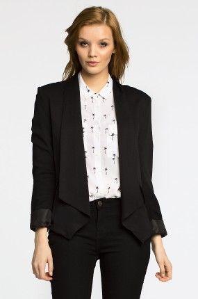 http://answear.cz/309692-review-damske-sako-new-drape.html Saka a vesty Saka  - Review - Dámské sako New Drape