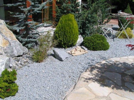 49 best kiesgarten images on pinterest landschaftsbau garten pflaster und landschaftsbau ideen. Black Bedroom Furniture Sets. Home Design Ideas