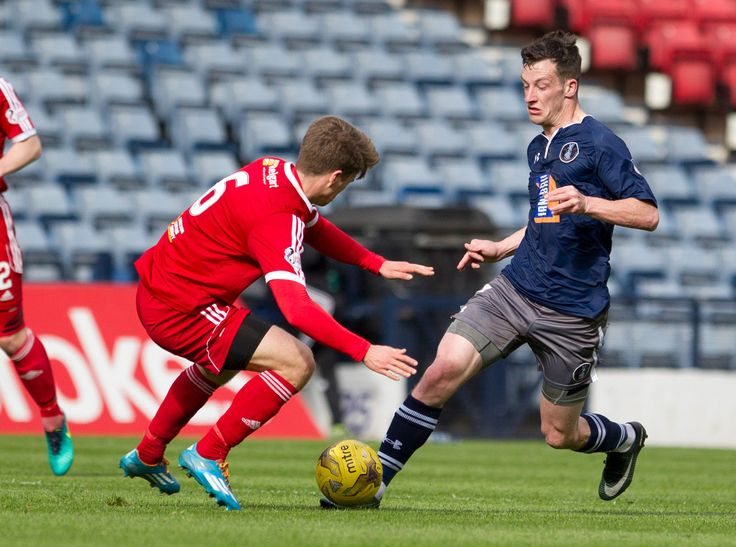 Queen's Park's David Galt in action during the Ladbrokes League One game between Queen's Park and Albion Rovers.