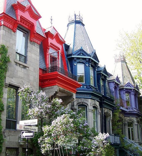 Square St-Louis, Montreal, Quebec.