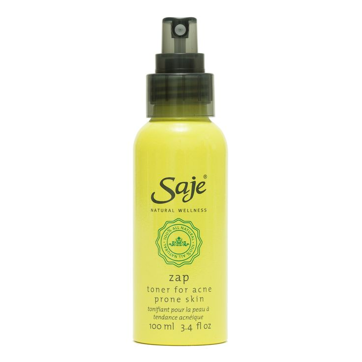 #Acne Zap Toner: Helps balance skin pH and reduce excess oil and bacteria. @Saje Wellness