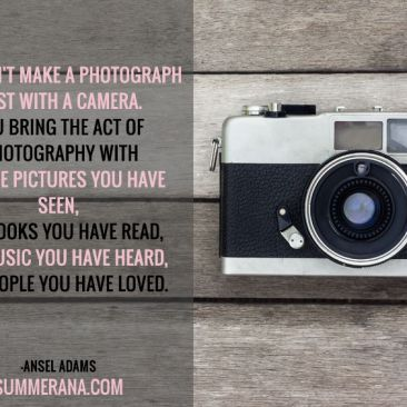You Don't Make a Photograph Just With a Camera