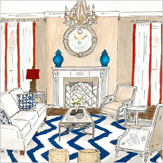24 Best Images About Sketches Rendering On Pinterest: room sketches interior design