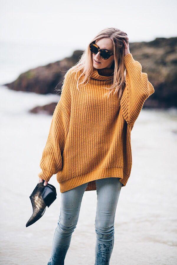 mustard + denim