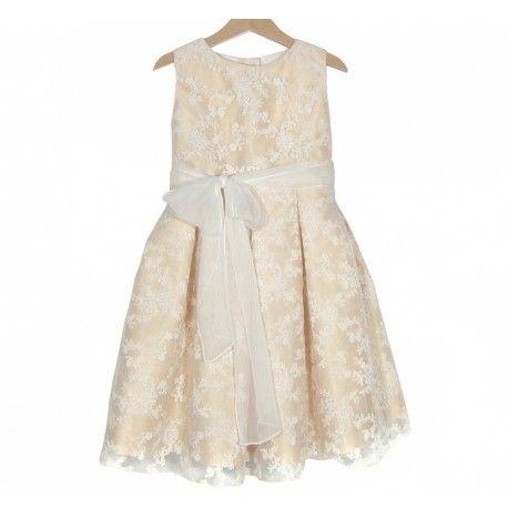 www.pepaonline.com Para una ocasión especial! Vestido de organza bordada de la Marca Sprint en Outlet de Ceremonias. Lo que necesitas para ese día al mejor precio