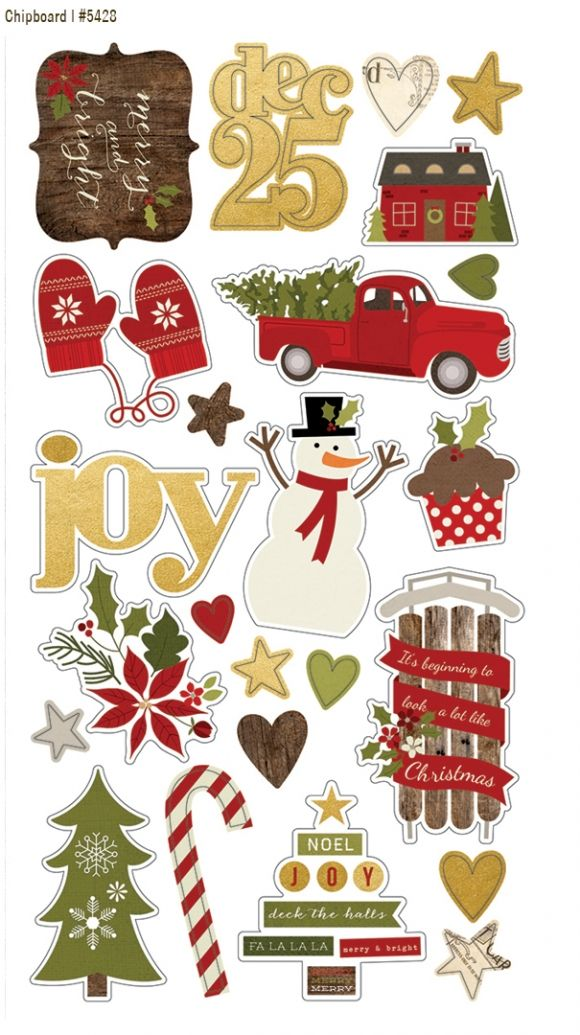 Summer 2014 Reveal Day 2 - Cozy Christmas   Simple Stories