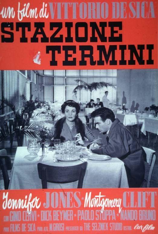 """""""Stazione Termini"""" (1953). Country: Italy. Director: Vittorio De Sica."""