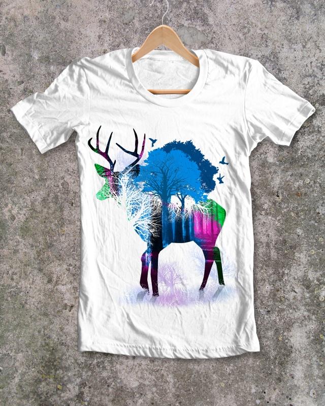 DEER      tshirts... & more (http://727073.spreadshirt.net/)