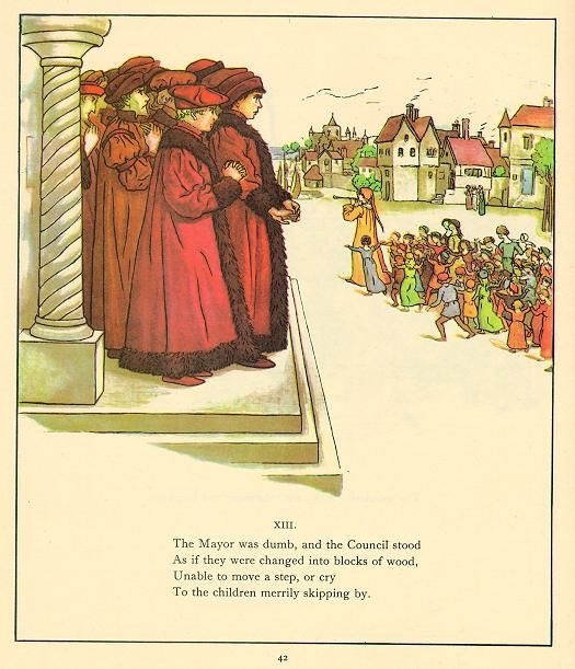 robert browning the pied piper of These are the things that made robert browning a legend  the pied piper of  hamelin, a children's poem that is quite different from his other.