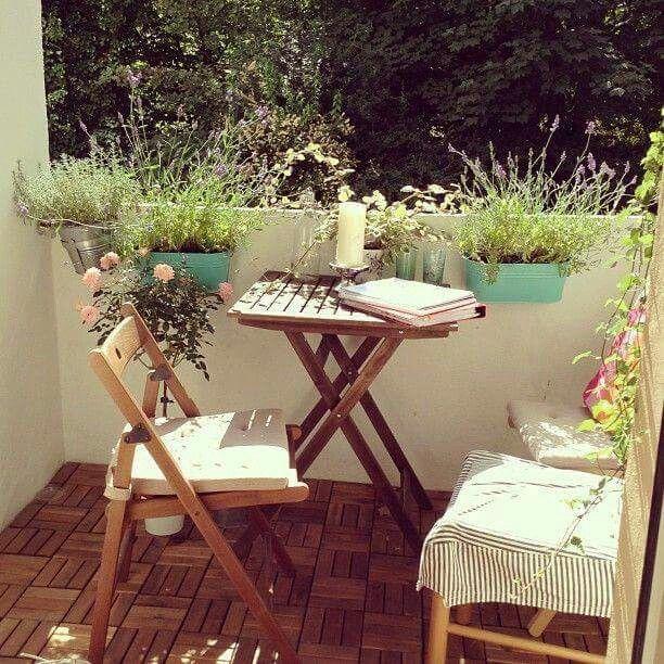best 25 small terrace ideas on pinterest balcony tiny. Black Bedroom Furniture Sets. Home Design Ideas