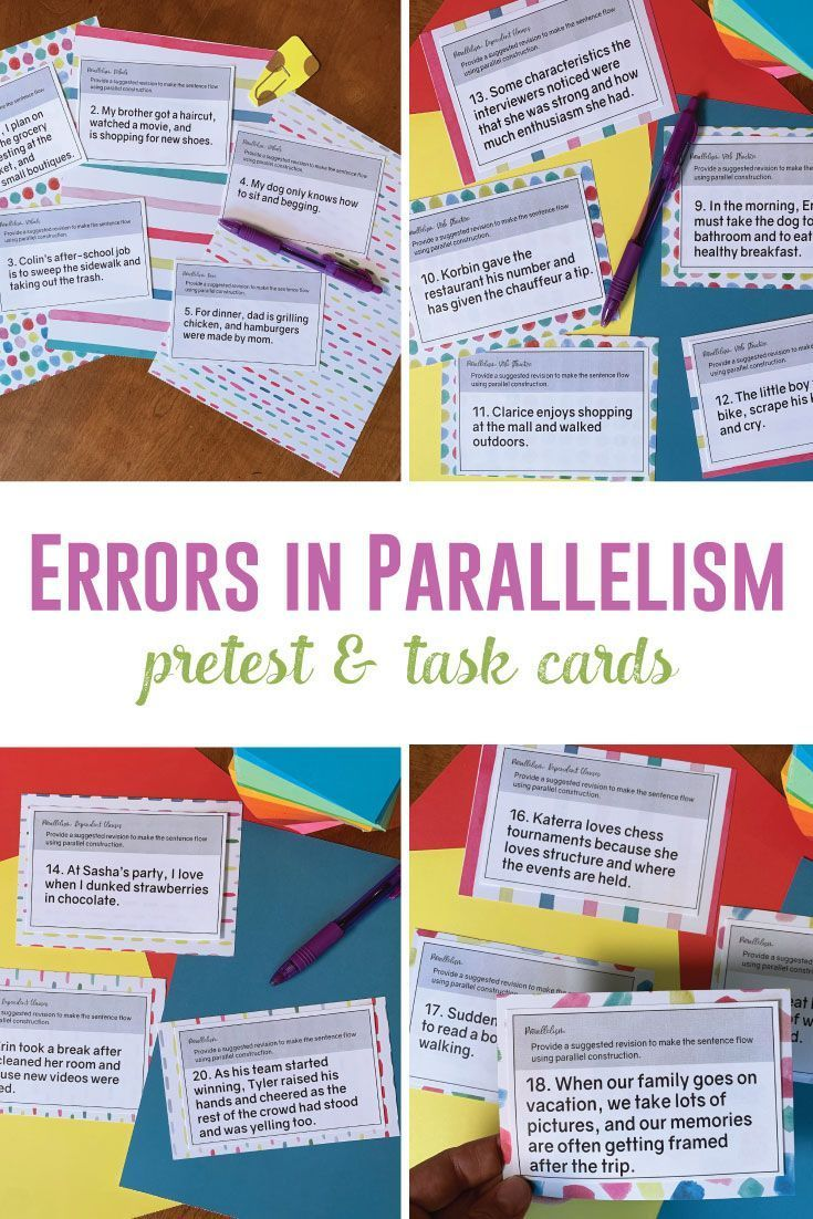 Grammar Errors In Writing Parallel Structure Parallelism In Writing Teaching Writing Student Writing Writing Lessons [ 1102 x 735 Pixel ]