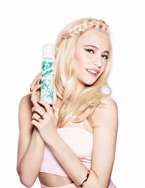 Pixie Lott launches collaboration with Batiste Dry Shampoo with campaign shot by Scottish world renowned photographer Rankin