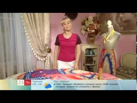 157 - Ольга Никишичева. Сарафан из трех платков