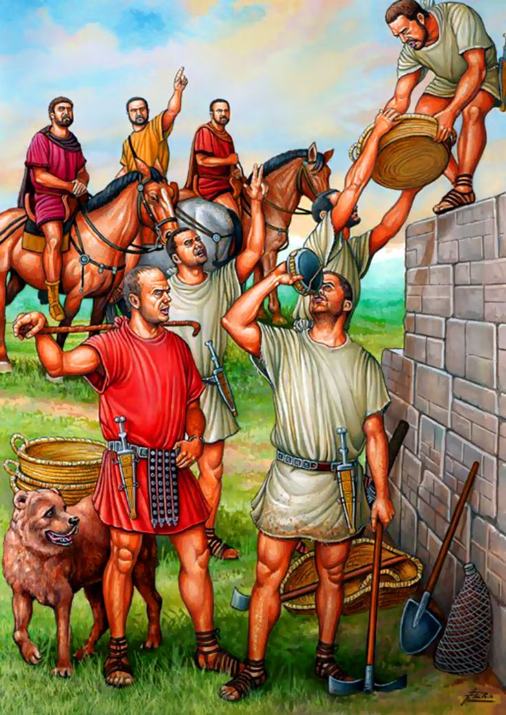 roman soldiers building hadrian s wall roman history on hadrians wall id=98054