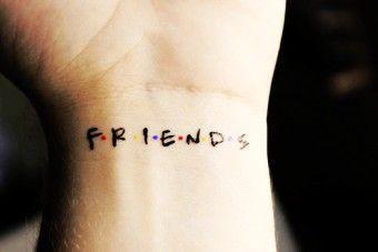 2017 trend Friend Tattoos - 2017 trend Friend Tattoos - Cute Wrist Quote Tattoos for Girls - Friends Wrist Q...