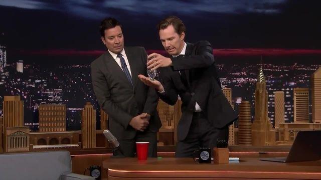 Benedict Cumberbatch's Magic Trick