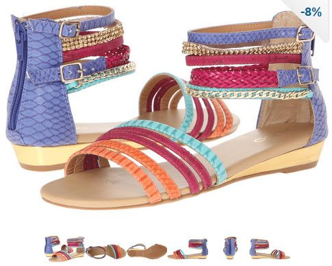 Sandale de vara joase model gladiator multicolore by ALDO Leady. Ce bine ca am cum sa le port la o gramada de haine!