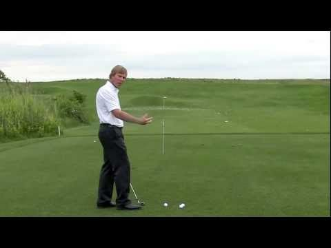 Andrew Rice - This drill will start to allow you to control the face angle through the impact interval - allowing you to start the ball on the intended line. The clubface is largely responsible for the launch direction on any shot. #Golf Swing Drill