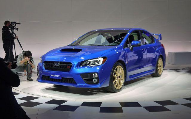 Detroit 2014: Subaru Impreza WRX STI