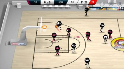 Stickman Basketball 2017 Games Action iPhone App ***** $4.99...: Stickman Basketball 2017 Games Action iPhone App… #iphone #Games #Action