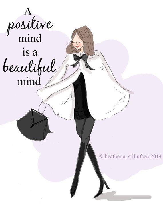 A positive mind❤