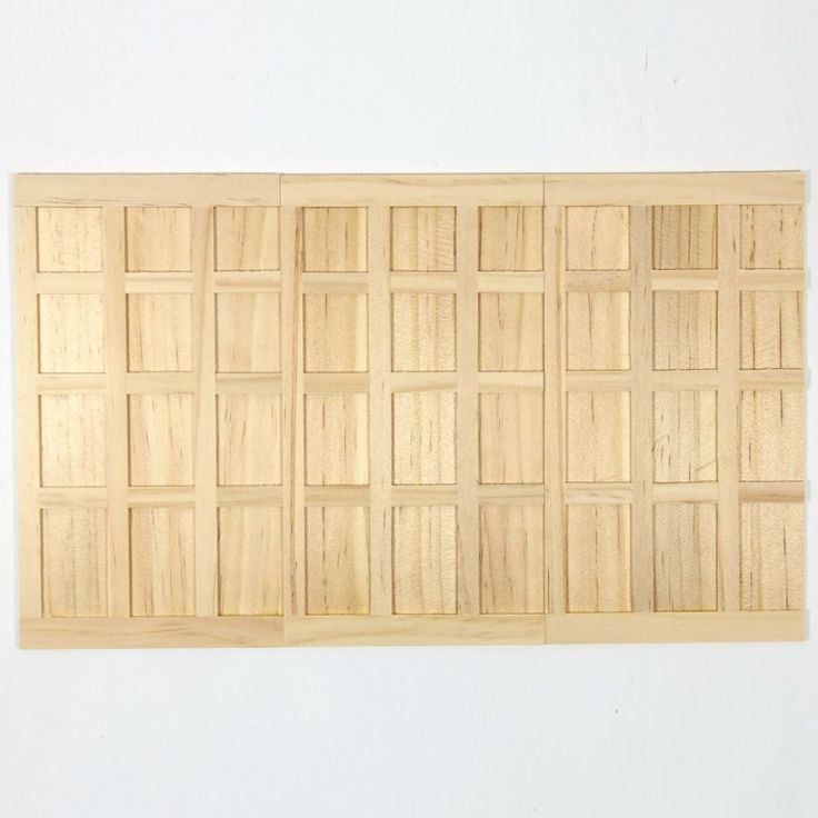 Tudor Syle Wooden Panelling - 1:12 Scale, Wooden Mouldings, 3017from Bromley Craft Products Ltd.