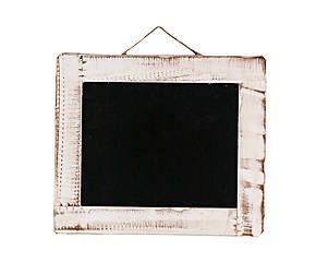 Tendencia vintage Pizarra con marco de madera – blanco Bonitas pizarras y…