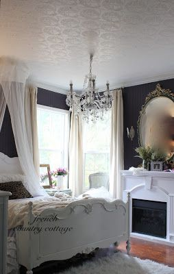 French country cottage romantic bedrooms i pinterest for French country cottage bedroom ideas