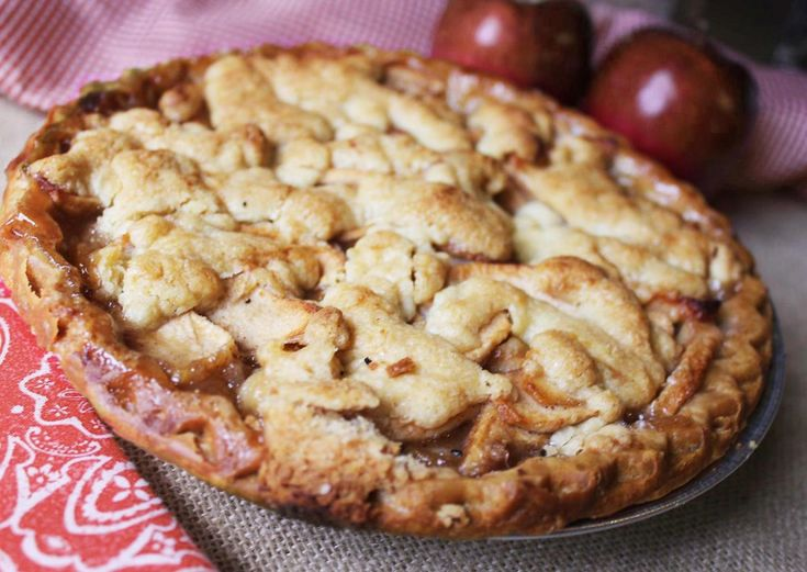 Brown Paper Bag Apple Pie | This sounds crazy, doesn't it? It will be the best apple pie you have ever eaten.